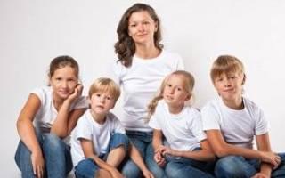 В каком возрасте может пойти на пенсию многодетная мать?