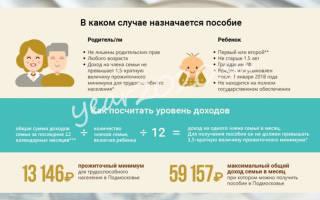 Выплаты на ребёнка, рождённого в 2020 году