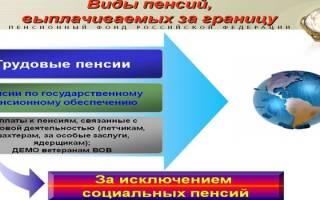 Возможно ли получение российской пенсии при проживании за границей?